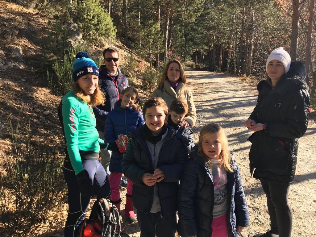 ruta con niños madrid