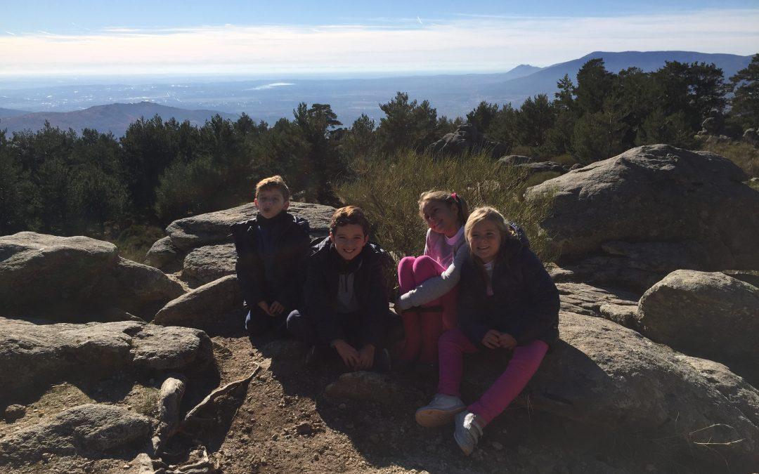 Rutas con Niños en Madrid: Mirador de los Poetas (Cercedilla)