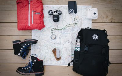 Como preparar la mochila para ir a la montaña con niños