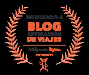 Nominados a mejor Blog de Viajes Revelación