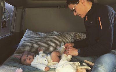 Viajar en Furgo con bebés: Nuestros imprescindibles y consejos