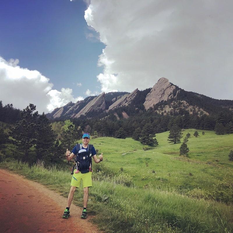 Viajar a Colorado: Flatirons en Boulder