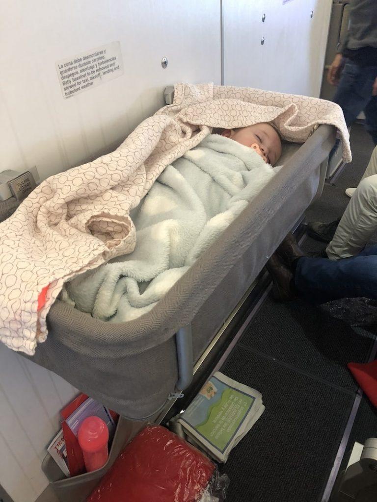 Volar a Colorado con un bebé
