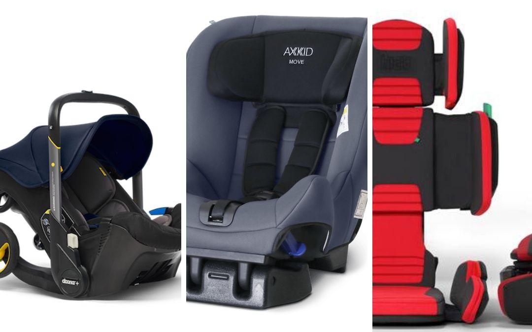 Las mejores sillas de seguridad de niños para viajar en furgoneta camper